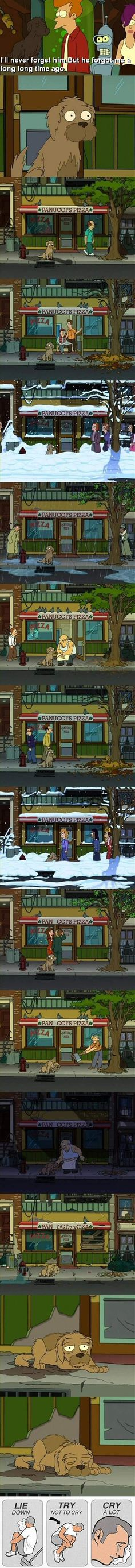 not even funny, but i had no other board to put it under! The saddest Futurama moment.