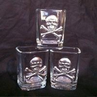 Square Pirate Shot Glass