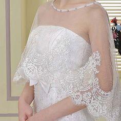 Bolero Jacket Bridal Jacket Wedding Jacket White Jacket by ctroum