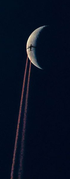 ♥ Fly me to the moon.. - Unknown Photographer