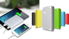 Caricabatterie portatile per tutti i Dispositivi mobili. il modo migliore per caricare quando sei in viaggio o fuori casa! SPEDIZIONE GRATUITA