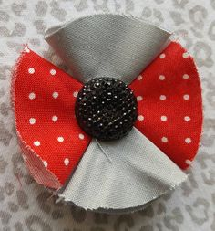 Girls/Toddler OSU Themed Bow by TwoPurpleThumbs on Etsy