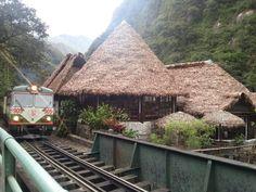 Inca Rail train by Inkaterra Hotel