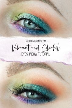 A quite colorful tutorial, using blues, purples, pinks, and oranges with a couple duo chromes. Ill give some color descriptions as I use new colors so you can find similar shades you may already have in your makeup bag if you dont own this palette. I also tried something new, by drawing on top of the images to better show placement.Makeup Artist Rebecca Shores  — rebeccakshores.com