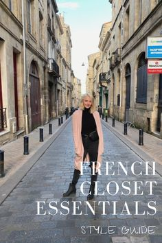 Dressing Parisienne is quite simple actually. Here are all of the French closet essentials you need to turn your wardrobe into a Parisian closet. Belt Purse, White Turtleneck, Black Chelsea Boots, Closet Essentials, Plaid Blazer, Vintage Jeans, Black Tights, White Sneakers, Parisian