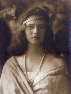 Princess Ileana of Romania, as a young child she played with Alexei when their two families met prior to WWI