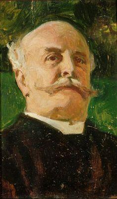 Portret Juliusza Kossaka - Józef Mehoffer