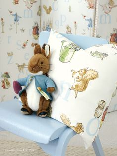 Beatrix Potter™ - Nursery Tales Collection - Jane Churchill Fabrics & Wallpapers