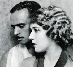 Mary Pickford and Douglas Fairbanks by classic film scans, via Flickr