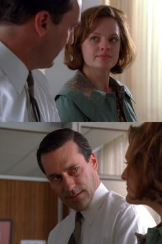 #madmen Peggy and don