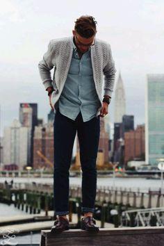 #gentlemanswardrobe Diggin' the sweater