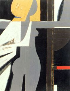 "Yiannis Moralis (Greek: Γιάννης Μόραλης), 1916 – was an important Greek visual artist and part of the so-called ""Generation of the Abstract Drawings, Abstract Art, Greek Paintings, Art Antique, Spirited Art, Ecole Art, Greek Art, Figure Painting, Figurative Art"