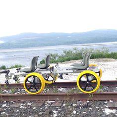 Take An Unforgettable Ride On The Oregon Coast Railrider