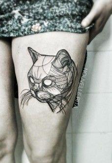 Eyeless Cat by Nouvelle Rita