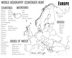 l nder europa tolles arbeitsblatt zaubereinmaleins geographie f r kinder geographie. Black Bedroom Furniture Sets. Home Design Ideas