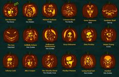 Rock and Roll Pumpkins