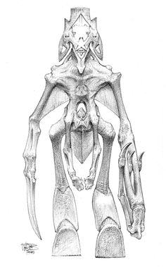 Artwork by Wayne Barlowe from the Art of Pacific Rim show. http://gnomongallery.com/shows/2013/pacific-rim/index.php