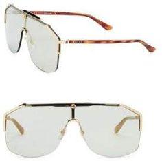 297f6941f01 Gucci Havana Shield Sunglasses Disclosure  Advertisement  guccihandbags Gucci  Sunglasses