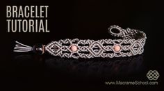 1001 Arabian Nights Bracelet TUTORIAL by Macrame School from the Thousand and One Nights Stories :) Please Watch more Macramé bracelets with beads in playlis...