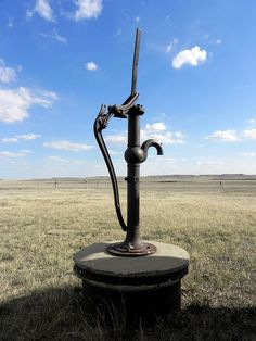 old school water pump...great picture
