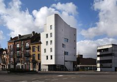 Wienerberger - Brick Terca Knabe F1.........Gallery of 5 Social Housing Units in Navez / MSA / V+ - 1