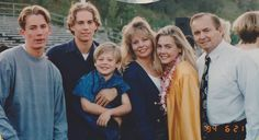 The Walker family in 1994:  (l to r) Caleb, Paul, Cody, Cheryl, Ashlie and Paul III