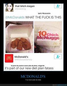 McDonalds y sus respuestas sinceras - Y su nuevo plan de dieta   Gracias a http://www.cuantarazon.com/   Si quieres leer la noticia completa visita: http://www.estoy-aburrido.com/mcdonalds-y-sus-respuestas-sinceras-y-su-nuevo-plan-de-dieta/