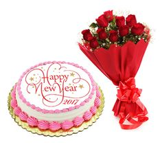 http://yummycake.in/product/cake-flower-delivery/ Send #CakeandFlower on this #newyear2017 #newyeargifts from #Yummycake