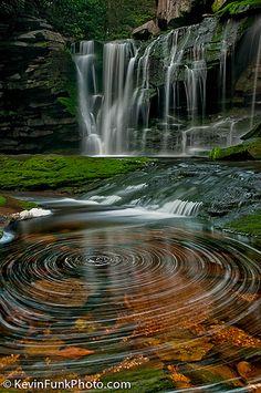 Elakala Falls - Blackwater Falls State Park - West Virginia