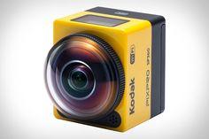 Kodak's New Action Camera Takes 360-Degree Shots, Looks Set To Trump GoPro - DesignTAXI.com