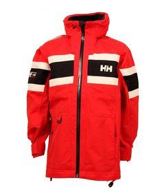ca54d126 Helly Hansen Salt jakke til barn/ungdom Vanntett, vindtett og pustende.  Avtagbar hette