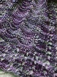 Image, Knits, Waves, Stitching, Tunisian Crochet