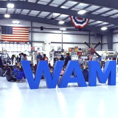 Create custom museum signs for events like large letters for parties and parades. See how the Warhawk Air Museum dressed up with temporary signs for events. Foam Letters, Plastic Letters, Large Letters, Wooden Words, Making Signs On Wood, Better Weather, Display Lettering, Clear Blue Sky, Upcoming Events