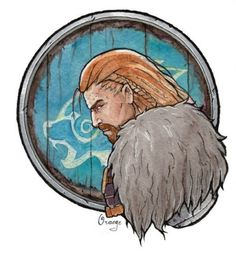 Ulfric Stormcloak. I still haven't sided with either party (mostly I just feel like slapping them both), but I really like this artwork.