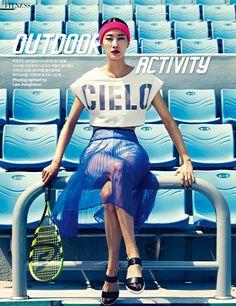 Harper's BAZAAR Korea May 2014 tennis #TennisPlanet www.tennisplanet.com