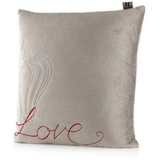 Kelly Hoppen Prince's Trust Crown Embroidered Cushion