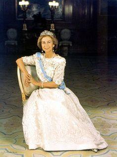 Reina de España Sofía Queen Sofia of Spain