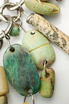 Holly Masterson Amazonite Dangle Necklace » Jewelry » Santa Fe Dry Goods | Clothing and accessories from designers including Issey Miyake, R...