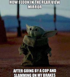 When the stand is taller than you - Baby Yoda Yoda Funny, Yoda Meme, Funny Jokes, Hilarious, Medical Humor, Nurse Humor, Memes Humor, Make Your Own Meme, Nursing Memes