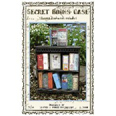 This Secret Books Case is the perfect display case for our secret books. The top has a book holder designed to display one open book of your choice. You can cha