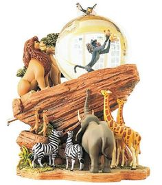 Lion King snowglobe