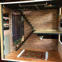 Lori Dollhouse, Loft to Love, Dollhouse Bashing, Dollhouse Remodel