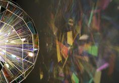 Colour square sphere, Olafur Eliasson