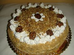 "Tort  ""Elena"" Caramel, Cake, Desserts, Food, Sticky Toffee, Tailgate Desserts, Candy, Deserts, Kuchen"