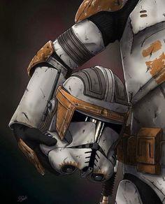 Comandante Cody - Star Wars Clones - Ideas of Star Wars Clones - Star Wars Clone Wars, Star Wars Clones, Star Wars Darth Vader, Darth Maul, Star Wars Fan Art, Images Star Wars, Star Wars Pictures, Star Wars Poster, Millennium Falcon