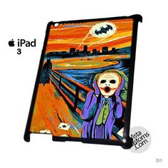 SCREAM BATMAN and JOKER New Hot Phone Case For Apple, iPhone, iPad, iPod, Samsung Galaxy, Htc, Blackberry Case