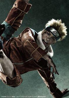 Naruto Live-Action Play Hits the Stage with The Live Spectacle  NARUTO (Uzumaki Naruto  Matsuoka Kodai)