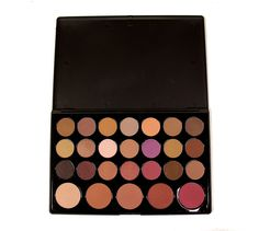 The 26 Shade Professional Contouring Palette is a great edition to any make-up lovers collection or for professional make-up artistry. Containing 26 neutral shades for various types of contouring. With powders both suitable for the eyes and for blush/bronzing this really is a versatile palette. Dusky pinks, tans and plums to name just a few colour variations. Palette Contouring, Makeup To Buy, Brush Sets, Cruelty Free Makeup, Crown, Kit, Makeup Brush Set, Eyeshadow, Make Up