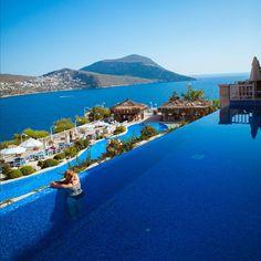 Burası Pazartesi Sendromuna İyi Gelir☺️ Likya Residence & SPA, #Kalkan - #Antalya  www.kucukoteller.com.tr/kalkan-otelleri.html