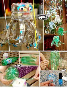 Plastic Bottle Medusas